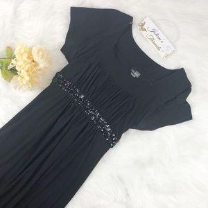 Bisou Bisou Black Maxi Dress